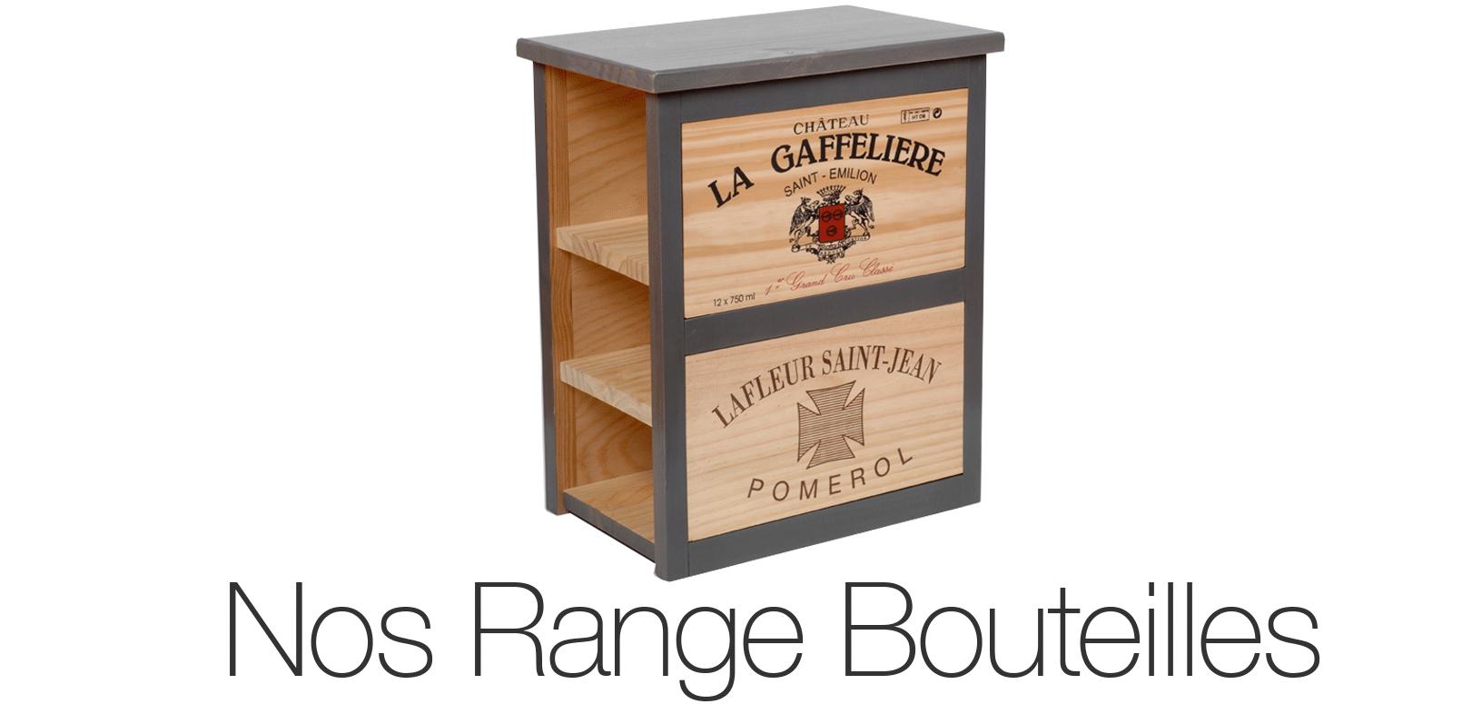 Vous trouverez dans cette categorie les differents models de range bouteille de cavideco differentes taille et differentes capacité de rangement et stockage de bouteille